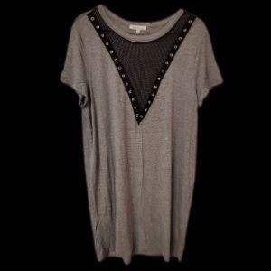 Grey T-Shirt Dress NWT
